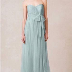Jenny Yoo Annabelle Dress Ciel Blue Sz 6